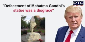 Donald Trump on Mahatma Gandhi Statue Defacement in US | George Floyd Protest