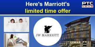 JW Marriott International South Asia Booking Offer | Bonvoy points