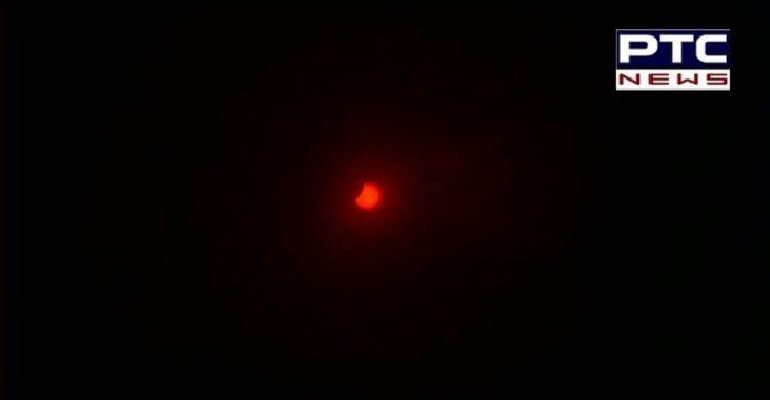 Annual Solar Eclipse 2020 Creates Ring of Fire | Surya Grahan India Photos