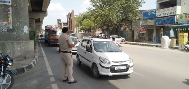 Unlock phase-1। Borders of Delhi | Haryana News | File Photo