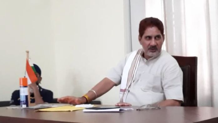 BJP Leader Subhash Barala Attacks on Congress Party