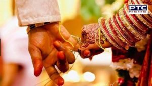 Bride -groom : jdo lada braat le ke sohre ghar puja ta ladi frar