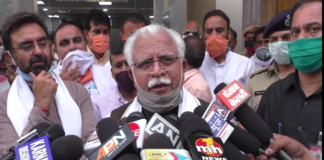 CM Manohar Lal Khattar attacked on Congress Party