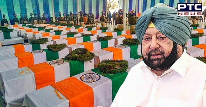 Punjab Govt Hikes Ex Gratia for Martyrs Soldiers Kin