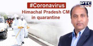 Coronavirus: Himachal Pradesh CM Jai Ram Thakur in quarantine