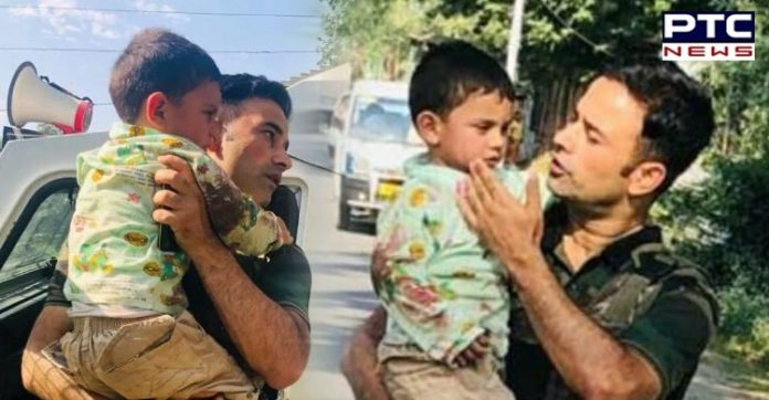 Jammu and Kashmir Sopore Baramulla Terror Attack on patrolling party | 3-year-old Kid Rescued