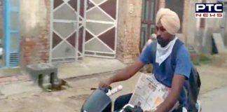 Jobless teachers selling vegetable roadside 1