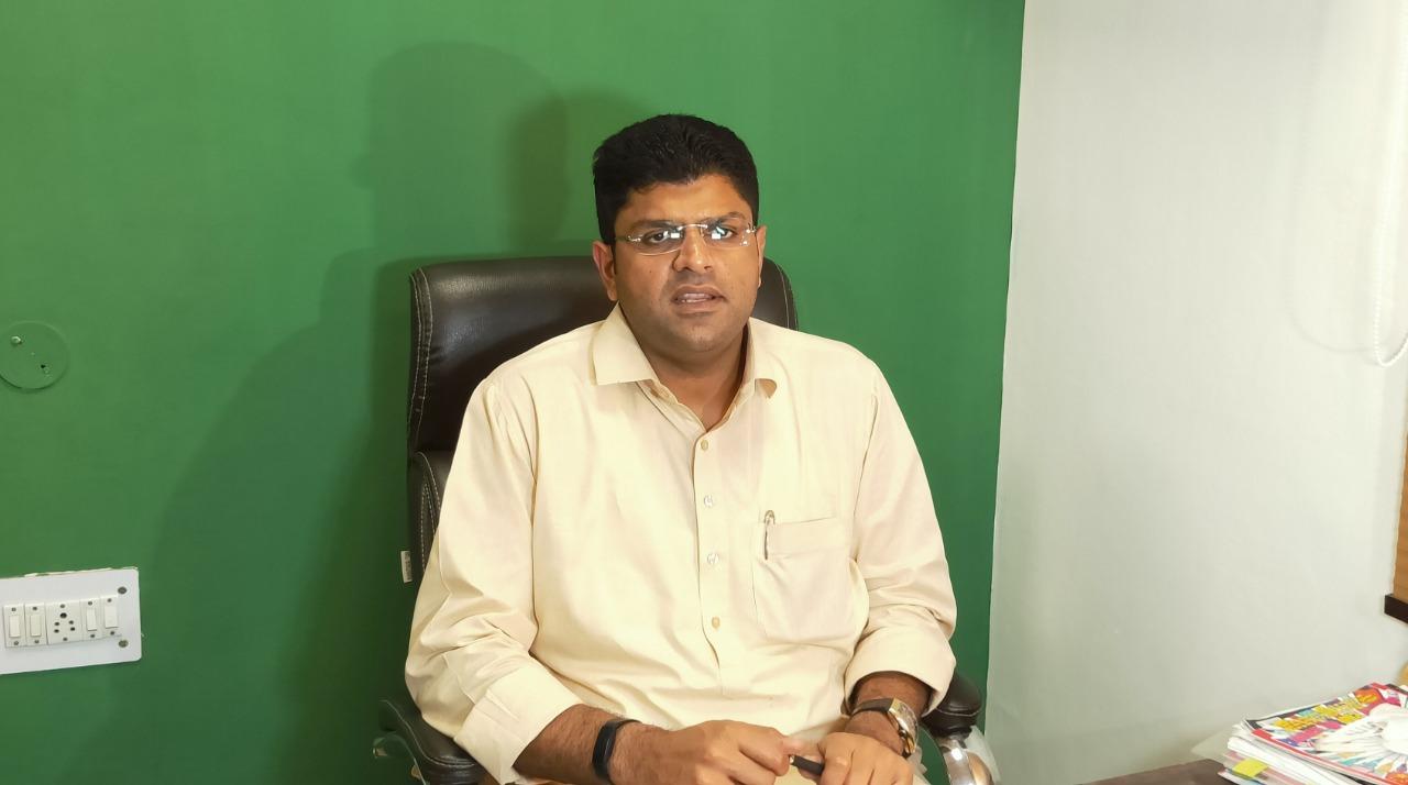 Paddy procurement Haryana   Haryana Deputy CM Dushyant Chautala