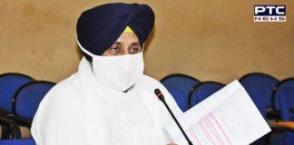 SAD Sukhbir Singh Badal | Punjab Farmers MSP | Congress