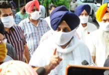 SAD Sukhbir Badal Protest against Captain Amarinder | Punjab Hooch Tragedy