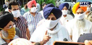 SAD Sukhbir Badal Protest against Captain Amarinder | Punjab Hooch Tragedy