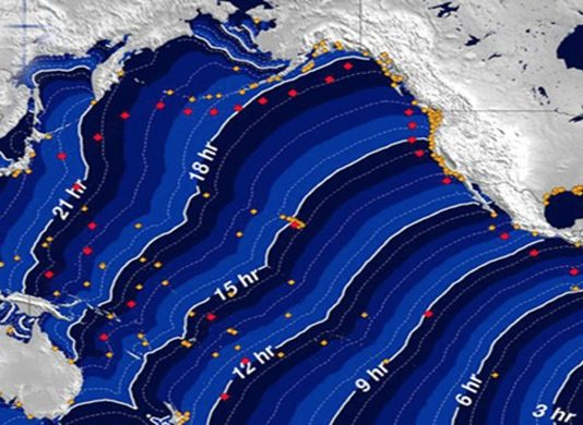 US Tsunami Warning After Alaska Earthquake | Alaskan coast