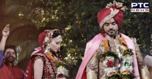 Urvashi Rautela & Gautam Gulati's wedding photo