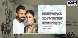 Virat Kohli, Anushka Donate For Assam and Bihar Flood Relief