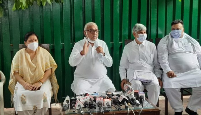 Government of scams in Haryana says Former CM Bhupinder Singh Hooda