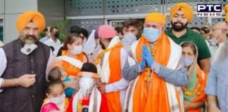 Sikh family from Afghanistan Arrived Delhi | Manjinder Singh Sirsa