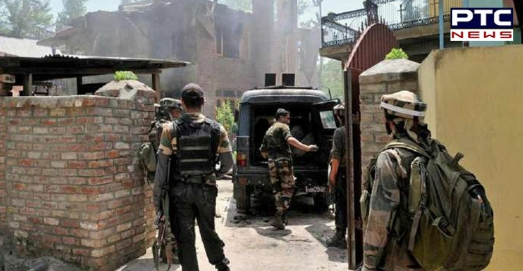 Terrorist attack on patrolling party in Sopore Jammu and Kashmir