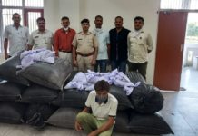 5 Quintal poppy husk & 64 kg marijuana recovered