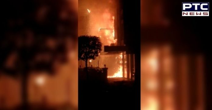 Fire in Hotel Swarna Palace COVID 19 facility   Vijayawada Andhra Pradesh
