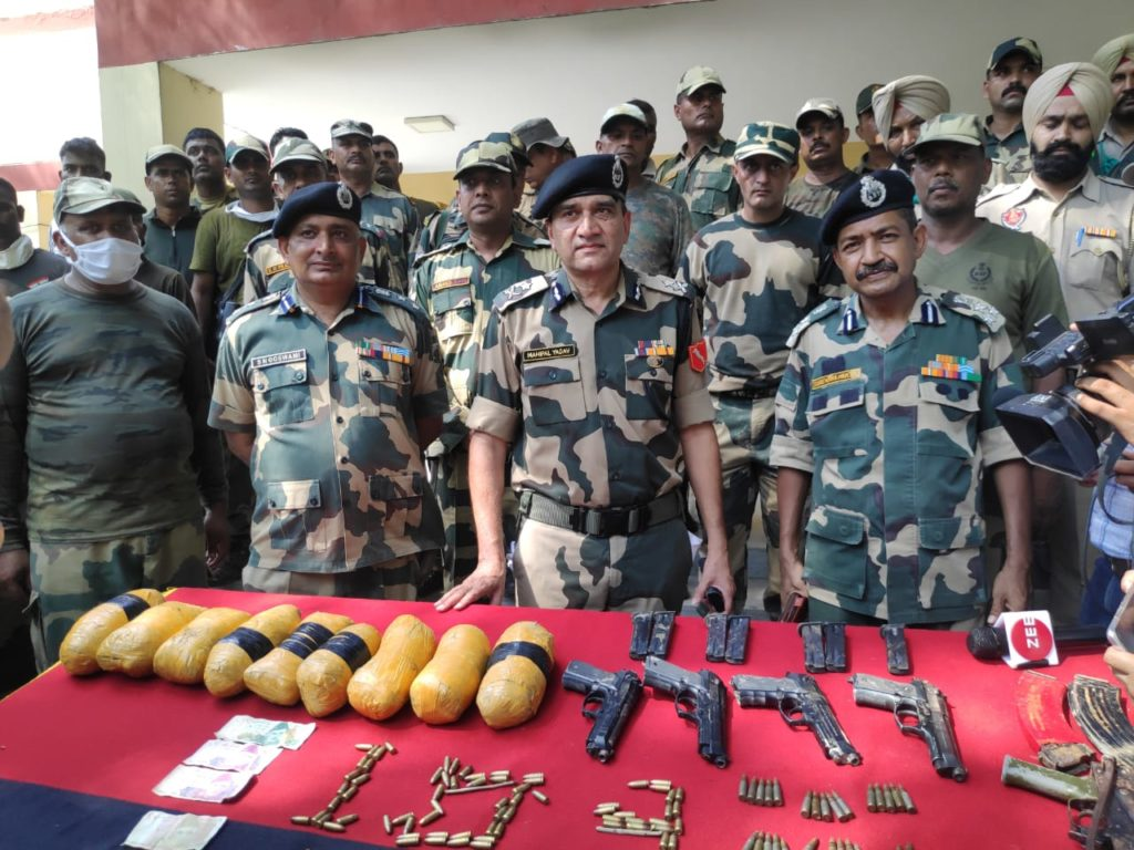 BSF Encounter Pakistani smugglers