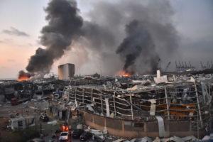 Beirut Lebanon blast