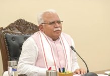 CM Manohar Lal handed over keys and allotment letters to 210 beneficiaries