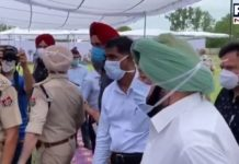 Captain Amarinder in Tarn Taran   Punjab Hooch Tragedy