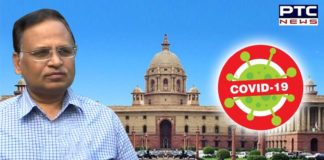 Satyendar Jain to Home Ministry on Coronavirus Delhi Cases