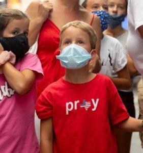Coronavirus cases US New Zealand Denmark Kids