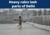 In videos, Heavy rains cause waterlogging in parts of Delhi
