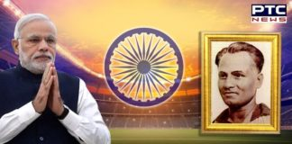 National Sports Day celebrations | PM Modi and ministers tribute Major Dhyan Chand