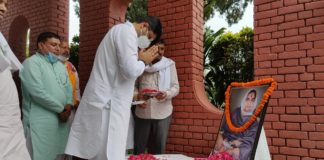 Dushyant Chautala became emotional after remembering Dadi Snehlata