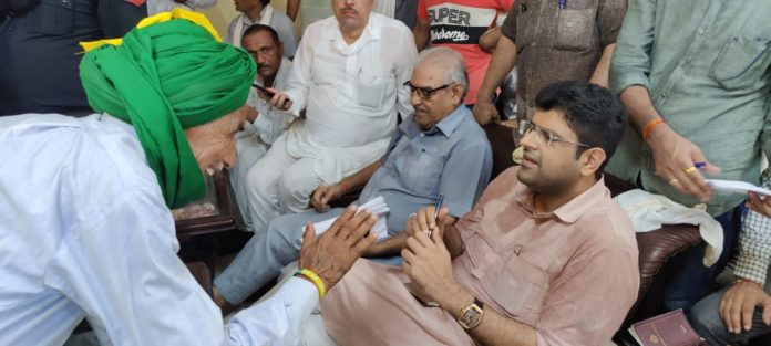Farmers will get the right to sell their crop anywhere says Deputy CM Dushyant Chautala