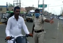 Fatehabad police decided not to Challan for not wearing mask for 2 days (1)