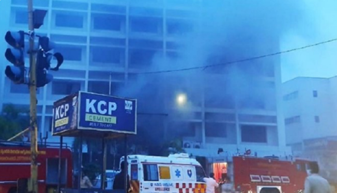 Fire breaks out at COVID care centre in Vijayawada