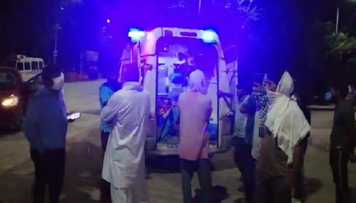 Four of a family died in road accident in Haryana | Haryana News