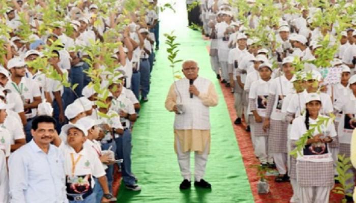 Haryana BJP Green Mission  Mahara Haryana Hara Bhara Haryana