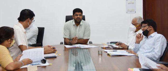 High level meeting of Deputy CM regarding Hisar Airport