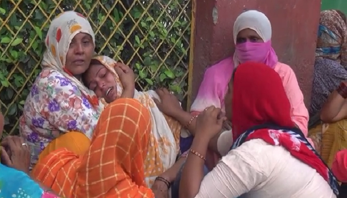 High speed car driver crushes a three year old girl   Haryana News