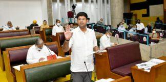 Hooda government had 'kacchi' pencil, we have 'pakki kalam' says Deputy CM Dushyant Chautala