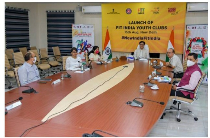 Launch of fit India youth club