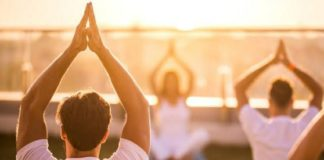 Yoga to Corona Patients