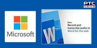 Microsoft introduces real time audio transcription feature to Word