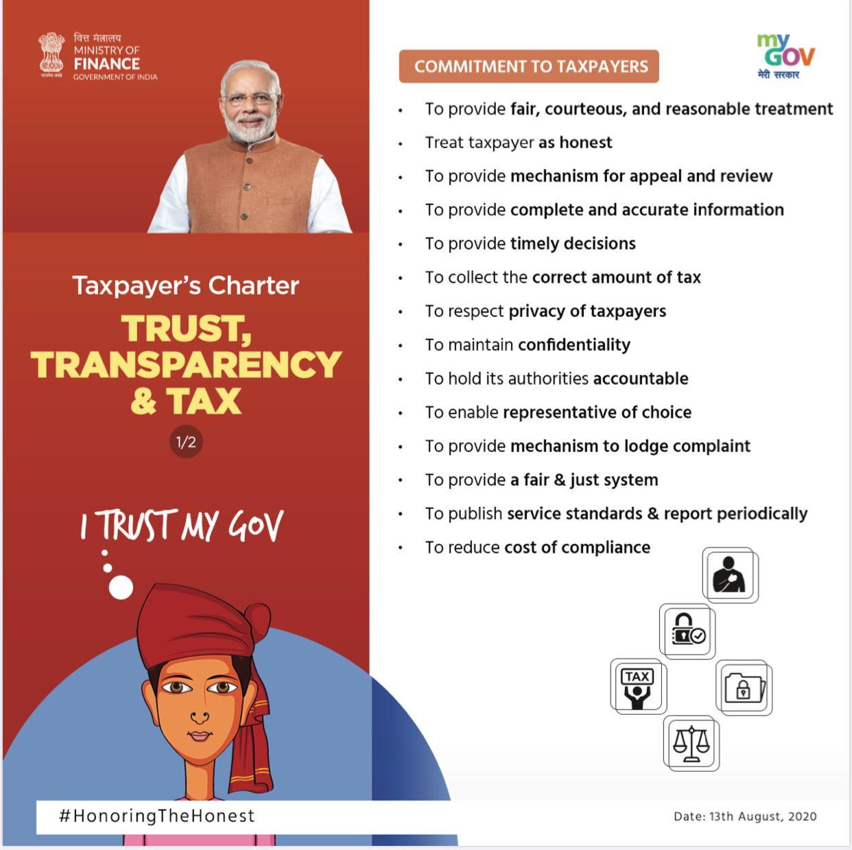 Number of taxpayers low in a country of 130 Crore people (2)
