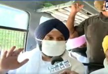 Bikram Majithia detained | Raj Bhawan Chandigarh police | Punjab Hooch tragedy