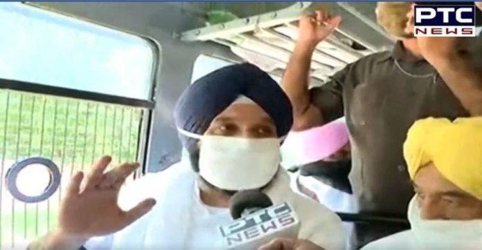 Bikram Majithia detained | Raj Bhawan Chandigarh police | Punjab Hooch tragedy