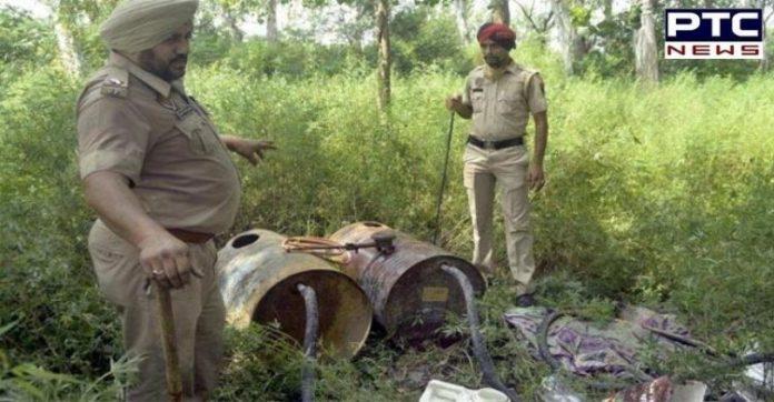 Punjab Hooch Tragedy   Police Bust Pandori Gola Spurious Liquor Module