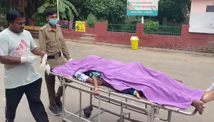 Six Passengers on Bike | Two Killed in Road Accident