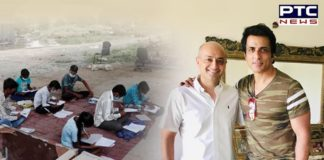 Sonu Sood Chandigarh businessman distribute smartphones to children