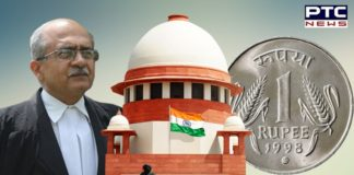Supreme Court Rs 1 fine on Prashant Bhushan in Contempt Case